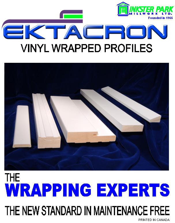 Vinyl Wrapped Door Frame Components