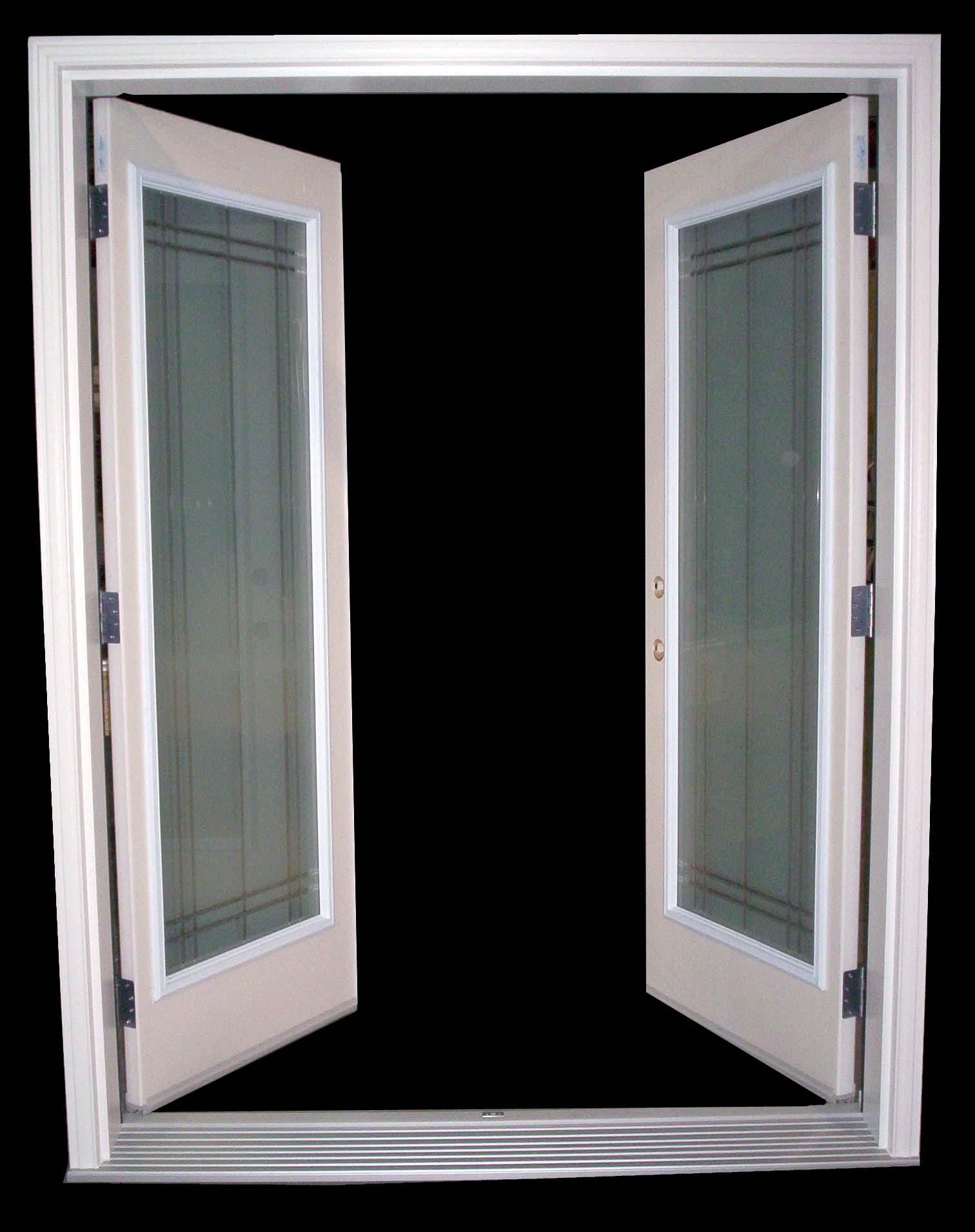 To replace an astragal how exterior single french door to for Double door replacement