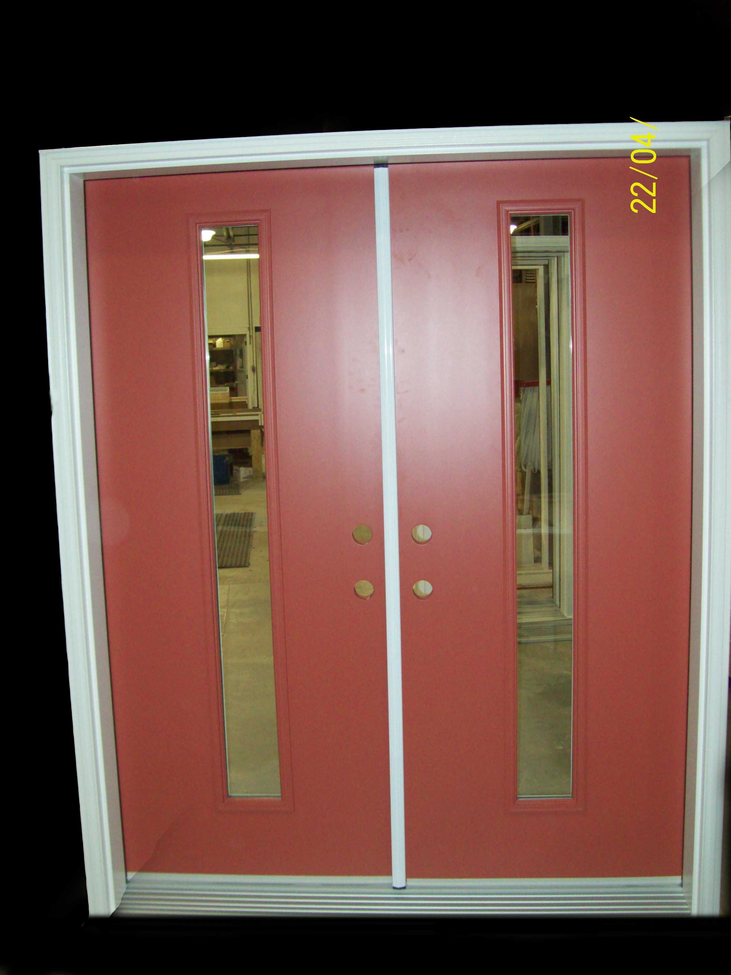 Gentil Double Door With Astragal   Right Entry